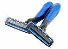 Hojas de afeitar Imagen de archivo libre de regalías