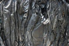 Hojas de aluminio Imágenes de archivo libres de regalías