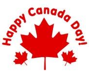 Hojas de arce felices del día de Canadá libre illustration