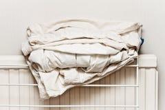 Hojas de cama Imagen de archivo