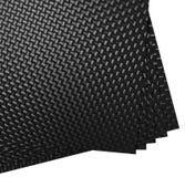 Hojas de la fibra de carbono Foto de archivo libre de regalías
