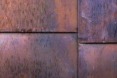 Hojas de metal naturales del moho, bloques imágenes de archivo libres de regalías
