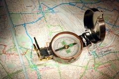 Hojas de operación (planning) del recorrido Fotografía de archivo