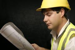 Hojas de operación (planning) industriales imagen de archivo