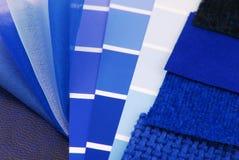 Hojas de operación (planning) interiores de la tapicería Fotografía de archivo