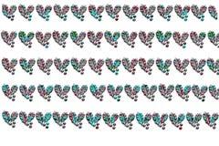 Hojas de Pointsetta Imagen de archivo libre de regalías