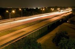 Hojas de ruta (traveler) de la noche Foto de archivo libre de regalías