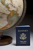 Hojas de ruta (traveler) de mundo Fotografía de archivo libre de regalías