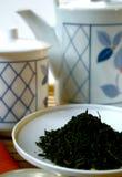 Hojas de té Imagen de archivo libre de regalías