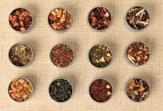 Hojas de té Imagen de archivo