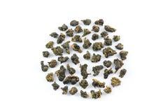 Hojas de té de Oolong Fotografía de archivo
