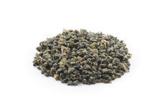 Hojas de té de Oolong Fotos de archivo libres de regalías