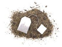 Hojas de té secas Foto de archivo libre de regalías