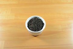 Hojas de té secas de Yunnan Imágenes de archivo libres de regalías