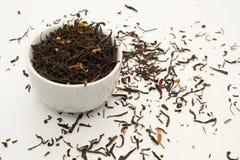 Hojas de té verdes del jazmín Foto de archivo