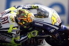 Hojas de Valentino Rossi para Ducati Imagen de archivo libre de regalías