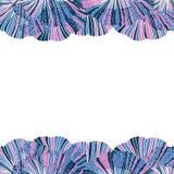 Hojas del biloba del ginkgo del vector Modelo lindo de los seamles Vagos dibujados mano Fotografía de archivo libre de regalías
