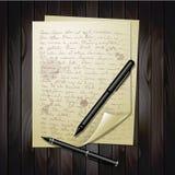 Hojas múltiples del Libro Blanco Imágenes de archivo libres de regalías