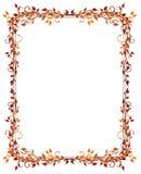 Hojas, otoño, marco Fotografía de archivo libre de regalías