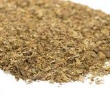 Hojas secadas sin procesar del tabaco Imagen de archivo libre de regalías