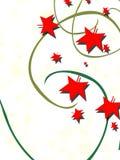 hojas y vino verde, fondo abstracto del rojo Imágenes de archivo libres de regalías