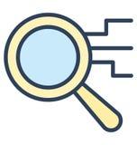 Hojee, encuentre el icono aislado del vector que puede ser muy fácilmente corregir o se modificó stock de ilustración