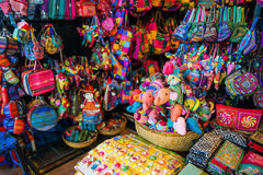 HOJIMIN City, Vietnam Mar 17:: Ben Thann Market in Hojimin City Stock Image