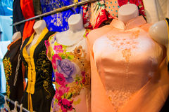HOJIMIN City, Vietnam Mar 17:: Vietnamese local dress Ben Thann Royalty Free Stock Images