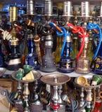 Hokah arabo variopinto Fotografia Stock Libera da Diritti