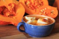 Hokaido pumpkin soup Stock Images