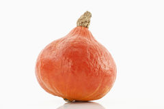 Hokaido pumpkin on white background Royalty Free Stock Image