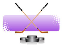 hokej lodu Obrazy Stock