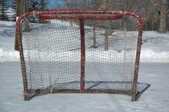 hokej sieci Zdjęcia Royalty Free