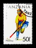 Hokej, sporta seria około 1993, Zdjęcia Royalty Free
