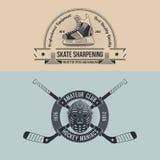 Hokeja klub ilustracja wektor