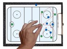 hokeja lód Zdjęcie Stock