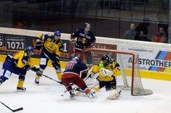 hokeja lód Obrazy Royalty Free