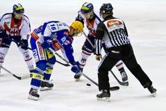 hokeja lód Obraz Royalty Free