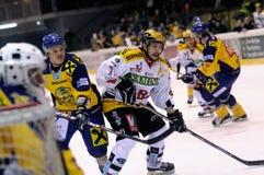 hokeja lód Fotografia Stock