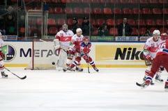 hokeja lód Zdjęcie Royalty Free