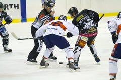 hokeja lód Fotografia Royalty Free
