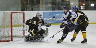 hokeja lodu dopasowanie Obraz Royalty Free