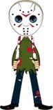 Hokeja Maskowy zabójca royalty ilustracja