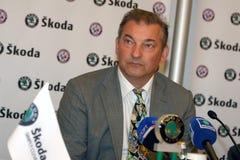 hokejowa legenda Zdjęcie Stock