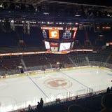 Hokejowa noc W Kanada zdjęcia royalty free