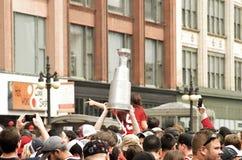 Hokejowy świętowanie Fotografia Stock