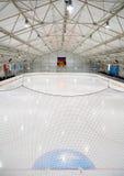 Hokejowy lodowisko obrazy royalty free