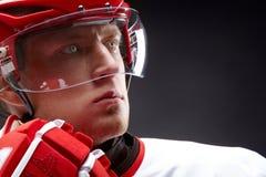 Hokejowy mężczyzna obraz stock