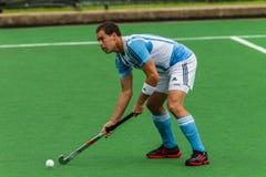 Hokejowy Międzynarodowy Argentyna V Południowa Afryka Obrazy Stock