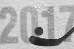 Hokejowy sezon 2017 Obrazy Stock